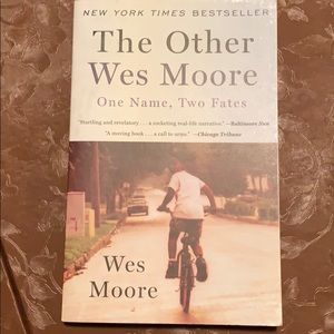 The Other Wes Moore paperback book